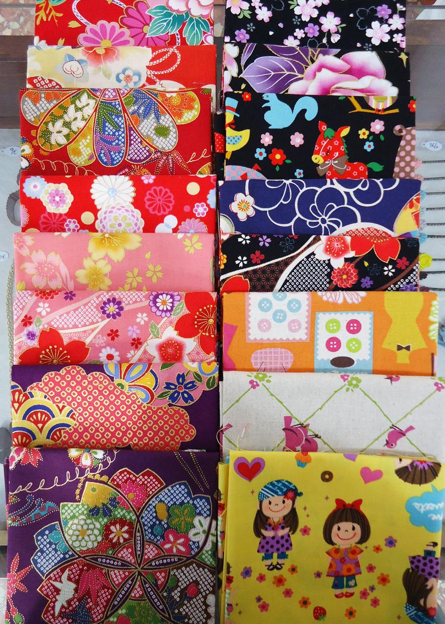 Novedad en la tienda telas japonesas fat quarters for Telas para toldos precios